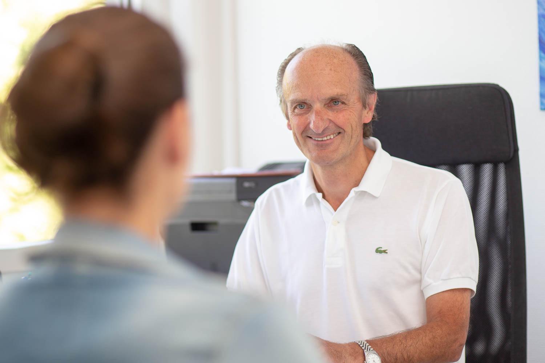 Hausärzte Düsseldorf – Dr. med. Loerke in der Praxis am Hofgarten